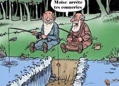 Moïse arrête tes conneries... image drole