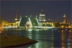Saint Petersburg #saintpetersburg #russia #bridge