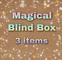 Caja sorpresa, paquete sorpresa, regalo sorpresa, pedido sorpresa, blind box, magical, fairy, mermaid, unicorn, dragon