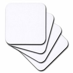 3dRose cst_159881_2 Pure White Bright Colorless Plain Simple One Single Solid White Color Soft Coasters Set of 8 ** Check out this great product. (This is an affiliate link) #FurnitureBarCoasters