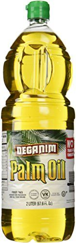 Deganim Refined Natrual Palm Oil - 2 Liter Bottle => Stop everything and read more details here! : Dinner Ingredients.