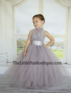 Vivian Flower Girl Tutu Dress