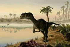 *Yangchuanosaurus. Art by Yuriy Priymak
