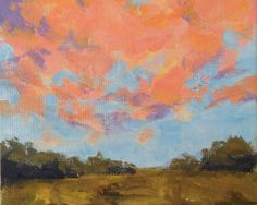 """""""End of the Day Two"""" SFA Small Format Art Collection by Ann Trenga on Etsy SFA - End of the Day (TWO) - Small format artworks - please check out the wonderful art in this treasury on Etsy. Thank you."""