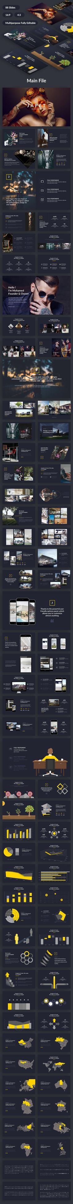 Japet Creative Design Google Slide Template
