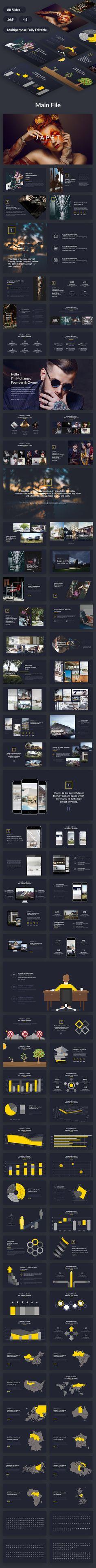 Japet Creative Design Google Slide Template