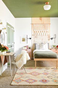 Retro Boho Bedroom