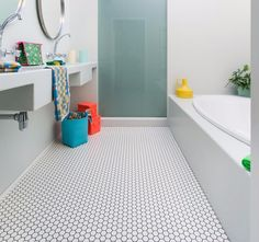 Home Decorating Style 2019 for Small Bathroom Vinyl Tiles, you can see Small Bathroom Vinyl Tiles and more pictures for Home Interior Designing 2019 at Best Home Ideas Best Vinyl Flooring, Vinyl Flooring Bathroom, Vinyl Sheet Flooring, Bathroom Vinyl, Bathroom Floor Plans, Kitchen Floor Plans, Kitchen Flooring, Vinyl Planks, Bathroom Ideas