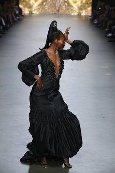 Monique Collignon Haute Couture Winter 2015 Model: Ovo Drenth