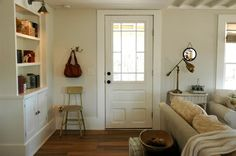For the walls: Benjamin Moore: Sea Pearl or White Dove - Google Search