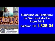 Apostila Edital Concurso Educador Social  S. J.  Do Rio Preto SP 2016