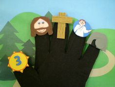 Easter Bible Puppets, Christian Puppets, Easter Stories for Children.