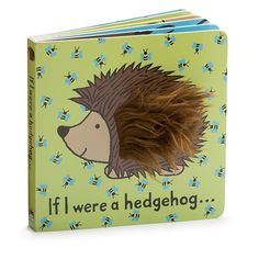 Snuffles for story time! What would it be like to have spines and paws? The If I Were A Hedgehog Board Book invites little ones to think and imagine. With tough board pages and joyful colours, it's a