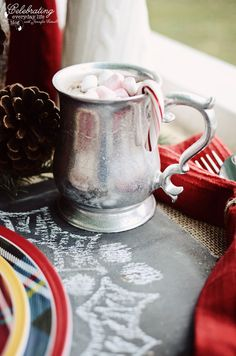 hot cocoa party | Celebrating everyday life with Jennifer Carroll