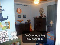 An Octonauts big boy bedroom - Gigglebox Tells it Like it is - www.wvugigglebox.blogspot.com