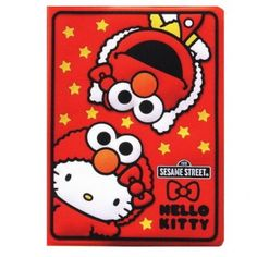 2012 Elmo & Hello Kitty Schedule Book Weekly Planner Agenda Silicone Embossed Cover