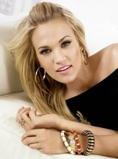 country singer Carrie Underwood. Has great music!!!! <3 her!!!