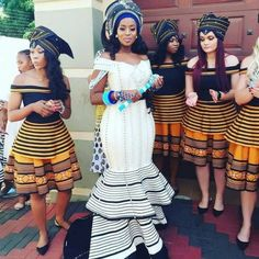 African Nigeria Bridesmaid Dress With a Style and Fashion Twist