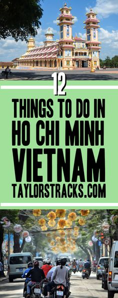 Discover Ho Chi Minh Vietnam through its history, architecture and mouth-watering food. Click here to start creating your itinerary! #vietnam ***************************************** Things to do in Ho Chi Minh | What to do in Ho Chi Minh | Hi Chi Minh City Vietnam | Ho Chi Minh City shopping | Hi Chi Minh City Vietnam things to do | Vietnam travel | Vietnam backpacking