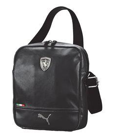 Look at this Black Ferrari LS Portable Crossbody Bag on  zulily today!  Ferrari, fe151bbc32
