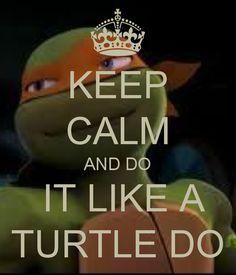 Like a turtle do! OMG YES!