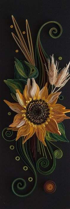 Neli quilling ~ This would be some GREAT Applique!