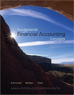 Solution manual for financial reporting and analysis using financial solution manual for fundamental financial accounting concepts 7th edition by thomas edmonds fandeluxe Gallery