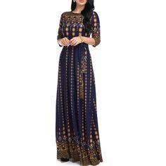Maxi Long Dress Female Summer Elegant Plus Size Dresses for Women 2018 Lace  Half Sleeve Floral Vintage Ladies Bohemian Vestido 7189b3323936