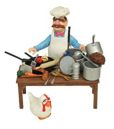 Diamond Select Toys The Muppets Swedish Chef & Food