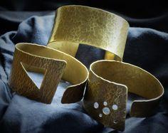 ...brass bracelets