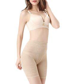 e14ea6b5f40e2 AIMILIA Thigh Slimmer Shapewear Body Shaper for Women Anti-Chafing Slip  Shorts Tummy Control Butt