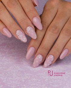Semi-permanent varnish, false nails, patches: which manicure to choose? - My Nails Gel Nail Art, Nail Manicure, Acrylic Nails, Gelish Nails, Cute Nails, Pretty Nails, Hair And Nails, My Nails, Nagel Blog