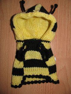 Dog sweater Bee dog jumper puppy sweater puppy by ADogFashion
