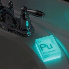 Glow in the dark elemental soap Each set includes Plutonium Radium and UraniumEach soap weighs 4 oz Ginger lime scented Might give you superpowers