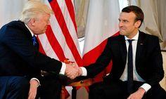 Auf Donald Trumps erster Auslandsreise sind Bilder entstanden, die diskutiert werden. Gelinde gesagt. Sie stehen für vieles, was den US-Präsidenten ausmacht.