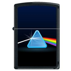 Zippo 'Prism-Spectrum of Colors' Black Matte Lighter, 0236 *** More info could be found at the image url.