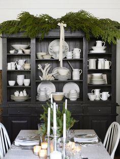 Kitchen Hutch Ideas Dark Stains Woodwork And Storage