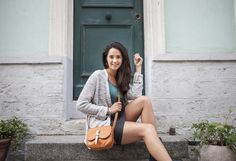 Maelle by Léa Toni - Cognac - Leather bag made in Italy