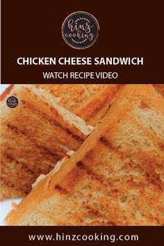 Today sharing mouthwatering 'Chicken Cheese Sandwich Recipe' that you can quickly prepare as Tea time snacks or breakfast recipe. 5 Minutes recipe to try. Pakistani Rice Recipes, Pakistani Chicken Recipes, Pakistani Dishes, Indian Food Recipes, Breakfast Recipes, Snack Recipes, Dessert Recipes, Cooking Recipes, Chicken Snacks
