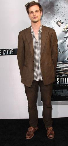 MGG Dr Spencer Reid, Matthew Gray Gubler, Creative Video, Criminal Minds, American Actors, Image Collection, Fashion Models, Suit Jacket, Costumes
