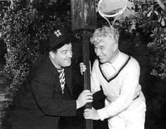 Lou Costello & Charlie, 1942