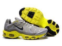 best loved d3851 1ba16 AIR MAX NIKE TN REQUIN 2011 CHAUSSURES PAS CHER POUR HOMME GRIS JAUNE