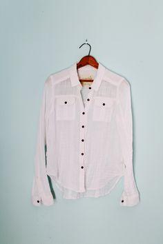 We the Free Gauzy Linen Shirt by FoxyRae on Etsy