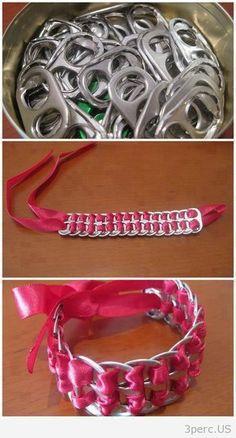 Recycled Bracelet.