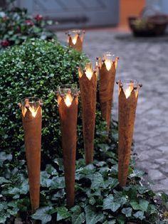 Gardenplaza - Durch flammende Dekoration den Sommergarten ins rechte Licht rücken - Atmosphärischer Feuerzauber
