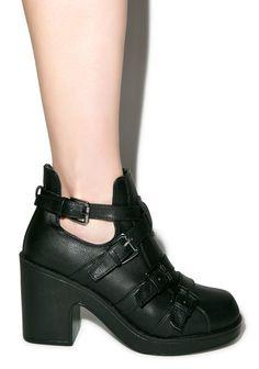 C Label No Mercy Boots Black