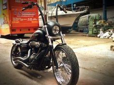 Harley Davidson Dyna FXDB Street Bob Custom