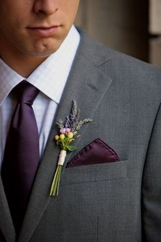 Wedding Groomsmen suits should be paid as much attention as bridesmaid dresses! We mean, they are your best friends, your brothers, the men that will see you get married even if you get cold feet! We have covered wedding attire groom related, but your groomsmen need their very own unique wedding tuxedos or suits or outfits that will make everyone know that those are the great men who will stand by your side while you go through the best day in your life and all those days to come! Plum Wedding, Wedding Men, Wedding Suits, Wedding Attire, Trendy Wedding, Wedding Colors, Wedding Flowers, Fall Wedding, Wedding Tuxedos