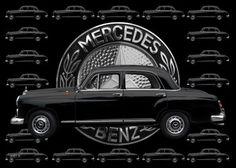 Mercedes-Benz 190 Db mit Mercedes-Logo
