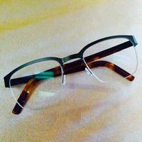 Simple lines that make a statement.  Lindberg Eyewear